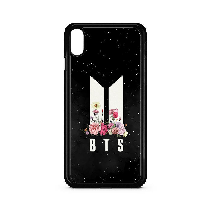 Army Bts Floral iPhone XS Case | Teesmarvel