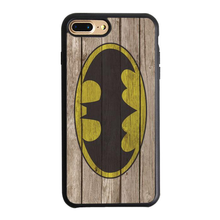 Batman Wood Logo iPhone 7 Plus Case | Teesmarvel