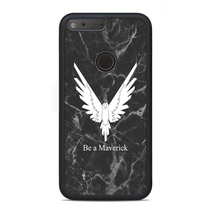 Be A Maverick Marble Logan Paul Google Pixel Case | Teesmarvel