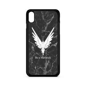 Be A Maverick Marble Logan Paul iPhone XS Case | Teesmarvel