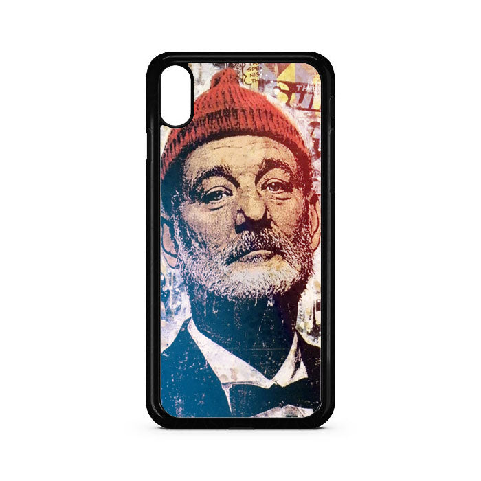 Bill Murray Face Mural iPhone XR Case | Teesmarvel