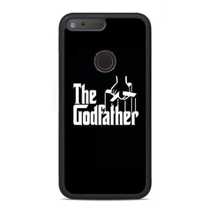 Black White The Godfather Google Pixel Case | Teesmarvel
