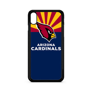 Blue Address One Cardinals Drive Arizona Cardinal iPhone XS Case | Teesmarvel