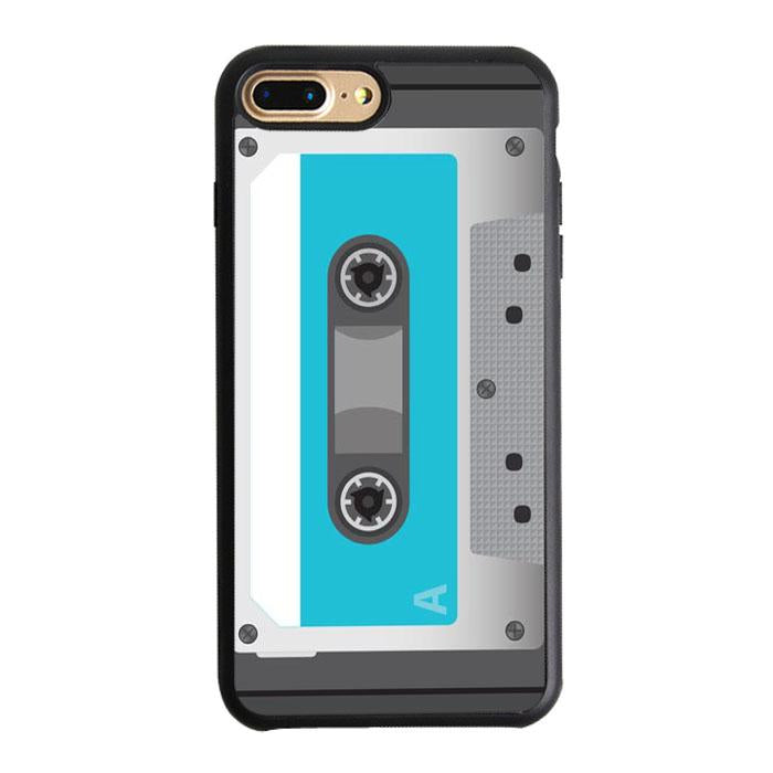 Blue Cassette Player iPhone 7 Plus Case | Teesmarvel