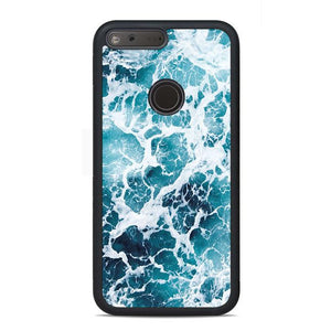 Blue Sea Water Google Pixel Case | Teesmarvel