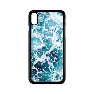 Blue Sea Water iPhone XS Case | Teesmarvel