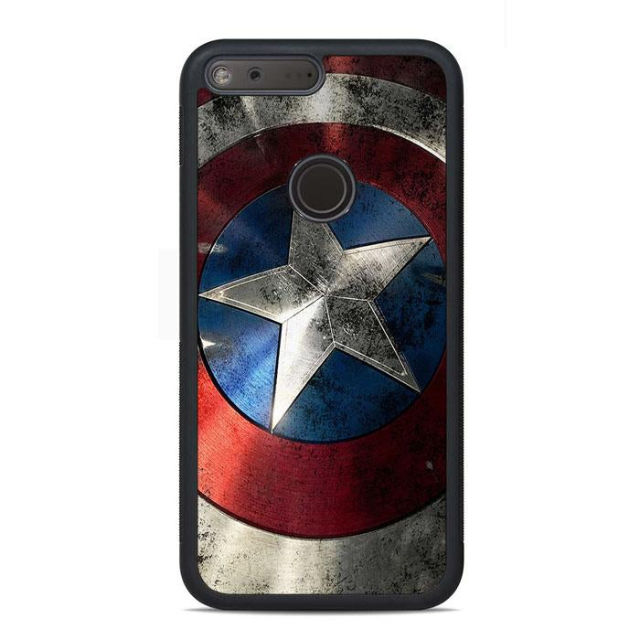 Captain America Shield Google Pixel Case | Teesmarvel