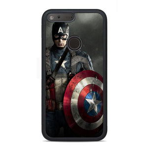 Captain America War Google Pixel Case | Teesmarvel