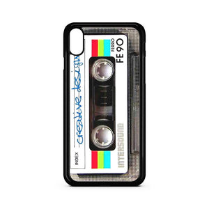 Cassette Player Fe90 iPhone XS Case | Teesmarvel