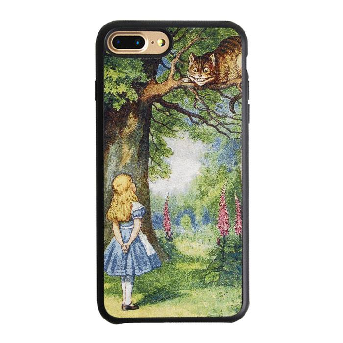 Chersire Cat And Alice iPhone 7 Plus Case | Teesmarvel