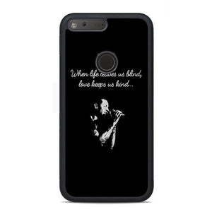 Chester Bennington Quotes Google Pixel Case | Teesmarvel