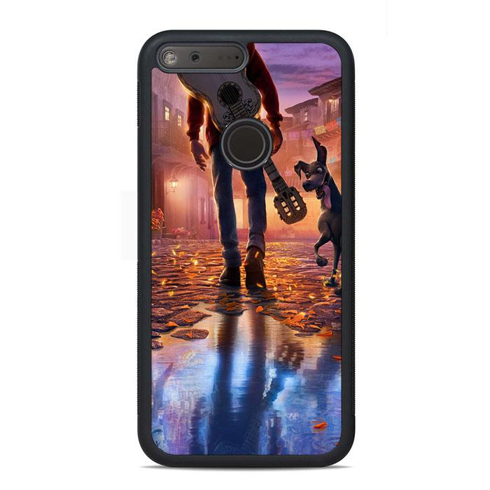 Coco Movie Miguel Walk With Dog Google Pixel Case | Teesmarvel