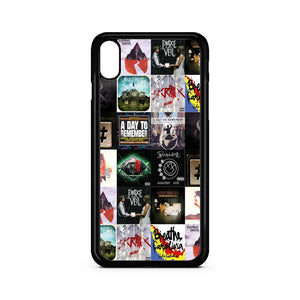 Cover Album Rock Band Collage iPhone XR Case | Teesmarvel