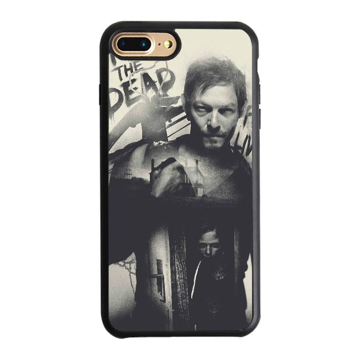 Daryl Dixon Fight The Dead iPhone 7 Plus Case | Teesmarvel