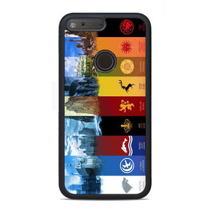 Game Of Thrones All Season Google Pixel Case | Teesmarvel