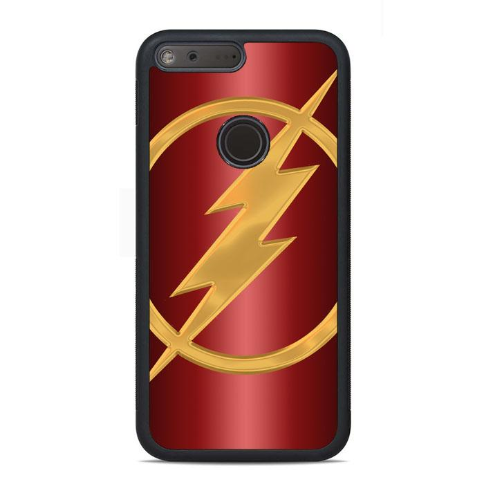 Gold Flash Logo Google Pixel Case | Teesmarvel