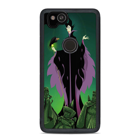 Disney Maleficent and Diablo Villain Google Pixel 2 Case | Teesmarvel