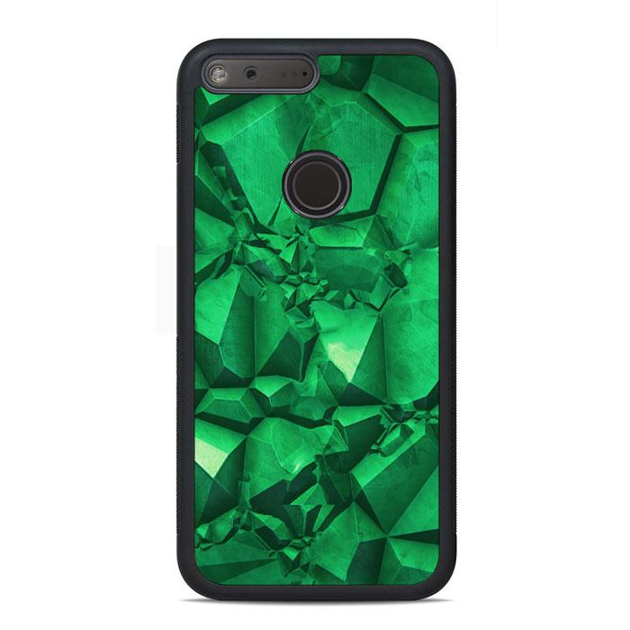 Green Emerald Google Pixel Case | Teesmarvel
