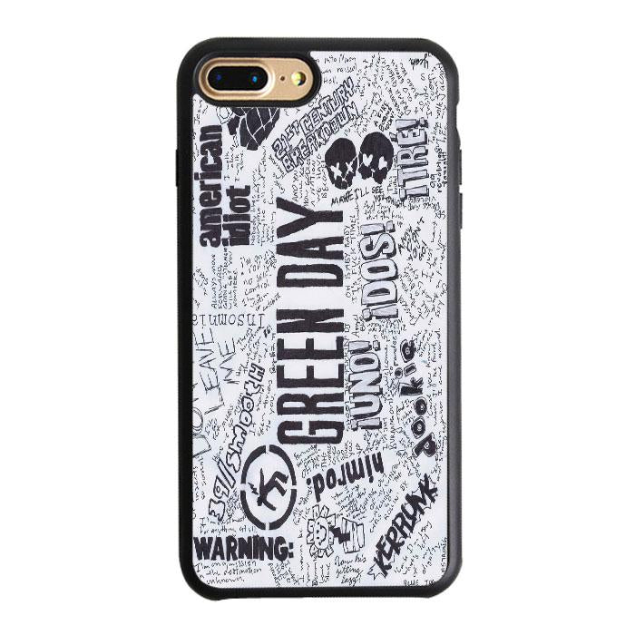 Greenday All Name Album iPhone 7 Plus Case | Teesmarvel