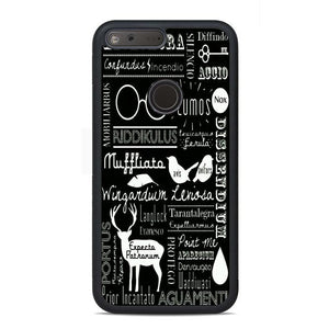 Harry Potter Spell Google Pixel Case | Teesmarvel