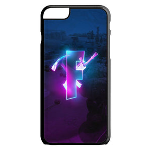 Glowing Fortnite Logo Season 6 iPhone 6 Plus|6S Plus Case | Teesmarvel