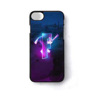 Glowing Fortnite Logo Season 6 iPhone 8 Case | Teesmarvel