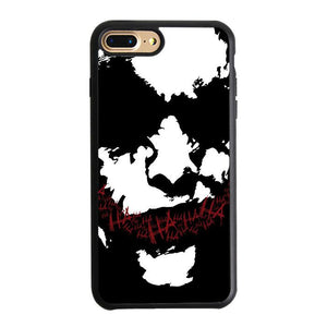 Joker Face Silhouette iPhone 7 Plus Case | Teesmarvel