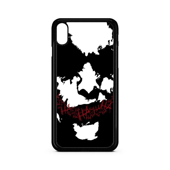 Joker Face Silhouette iPhone XR Case | Teesmarvel