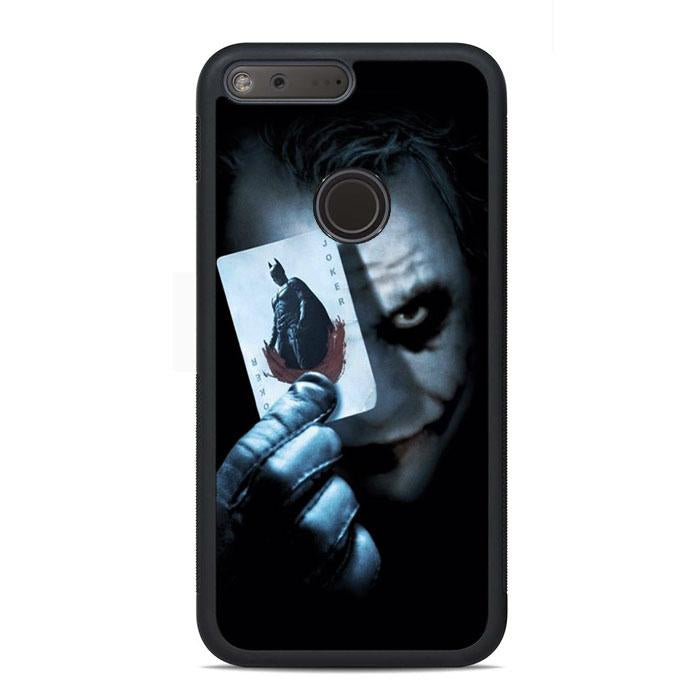 Joker With Playing Card Batman Google Pixel Case | Teesmarvel