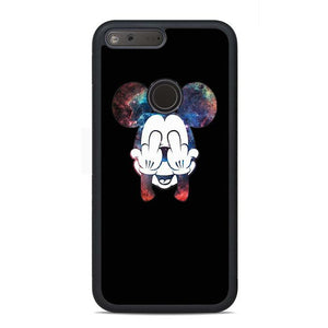 Mickey Mouse Galaxy Google Pixel Case | Teesmarvel