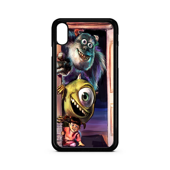 Monster Inc Door Art iPhone XR Case | Teesmarvel