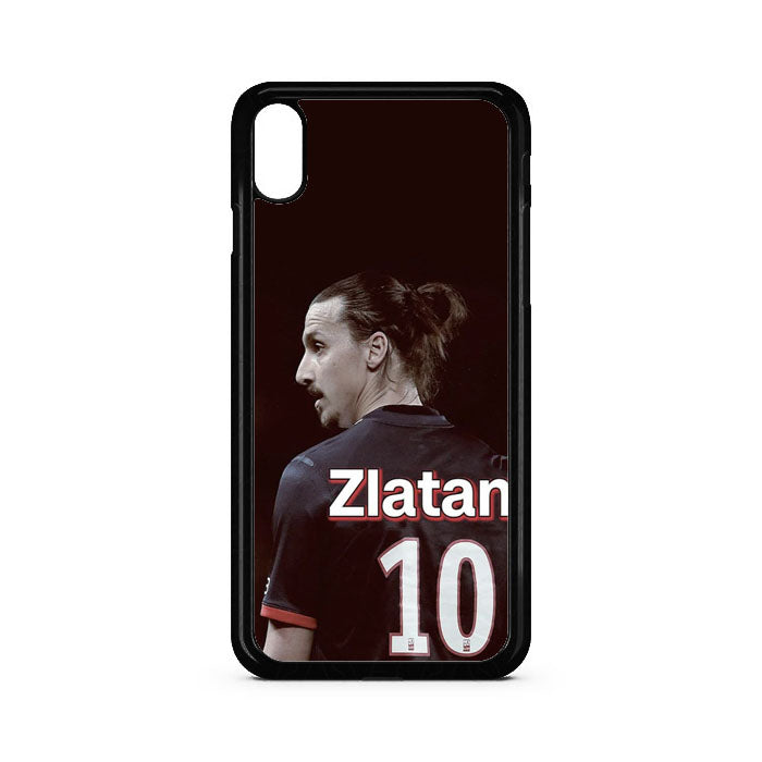 Number Ten Zlatan Ibrahimovic iPhone XS Case | Teesmarvel