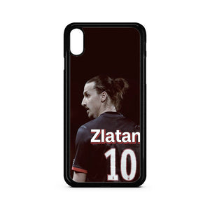 Number Ten Zlatan Ibrahimovic iPhone XR Case | Teesmarvel
