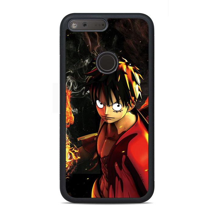 One Piece Luffy Google Pixel Case | Teesmarvel