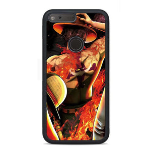 One Piece Portgas D Ace Google Pixel Case | Teesmarvel