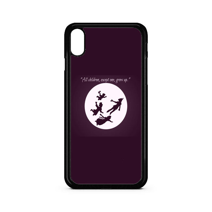 Peter Pan To Neverland Quotes iPhone XS Case | Teesmarvel