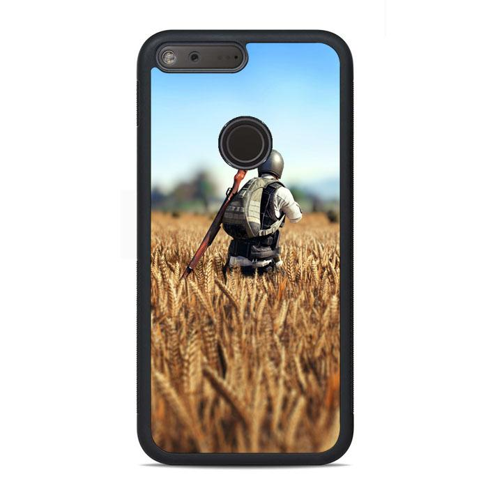 Player Unknowns Battlegrounds Game Play Scene Google Pixel Case | Teesmarvel