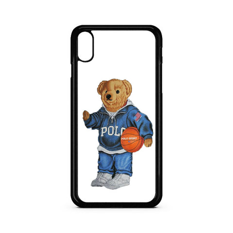 Polo Bear iPhone XR Case | Teesmarvel