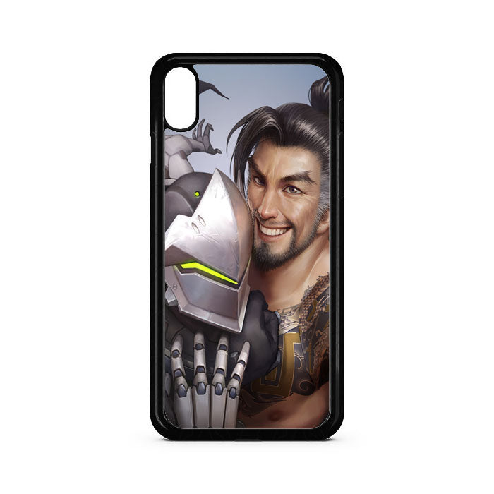 Shimada Brother Dragons Overwatch iPhone XS Max Case | Teesmarvel