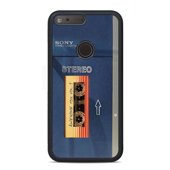 Sony Walkman 1979 Awesome Mix Star Lord Google Pixel Case | Teesmarvel