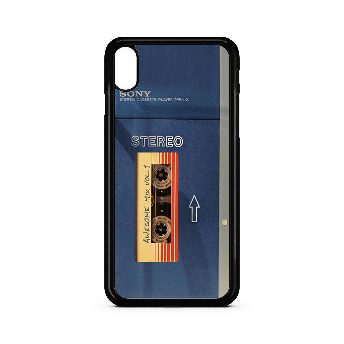 Sony Walkman 1979 Awesome Mix Star Lord iPhone XR Case | Teesmarvel