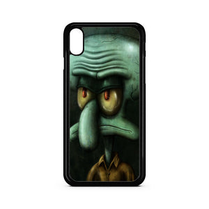 Squidward Tentacles iPhone XS Max Case | Teesmarvel