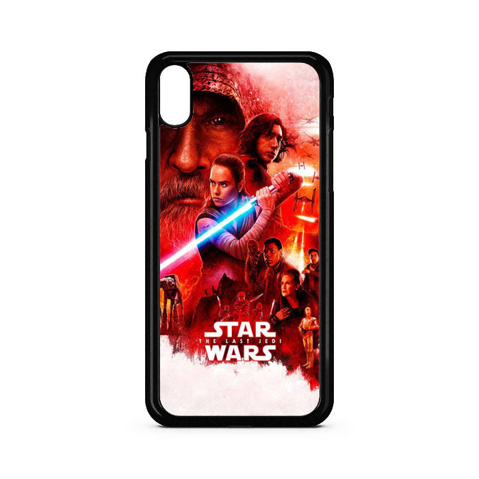 Star Wars The Last Jedi Movie iPhone XS Max Case | Teesmarvel