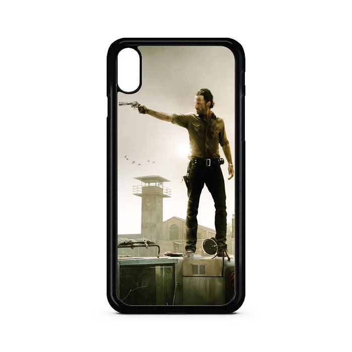 The Walking Dead Movie Poster iPhone XS Max Case | Teesmarvel