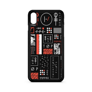 Twenty One Pilots Art iPhone XS Max Case | Teesmarvel