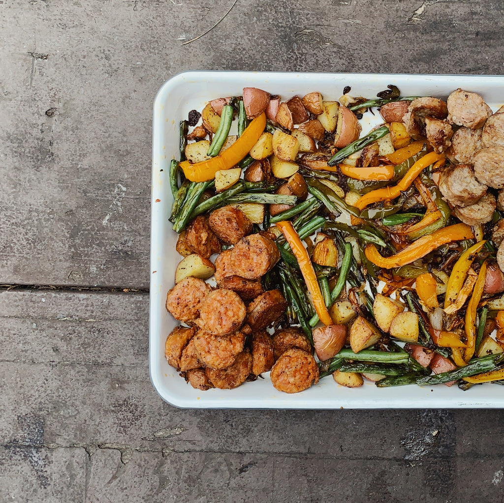 Recipe: Sausage & Veggies
