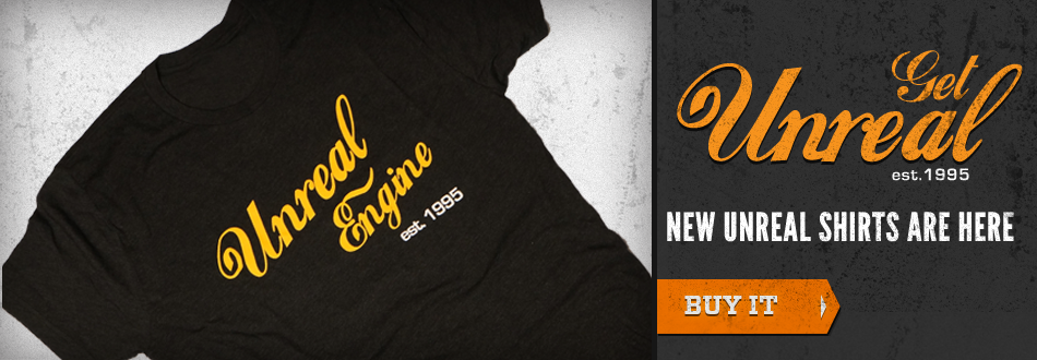 Get Unreal- New Unreal shirts are here