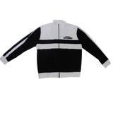Black and white sports jacket