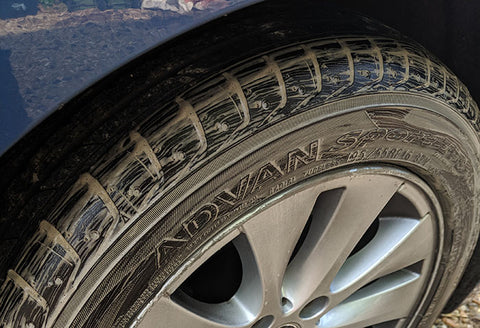 Dirt Tire and Bmw wheel