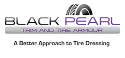 Black Pearl Trim & Tire Armour Logo A Better Approach Tire Dressing